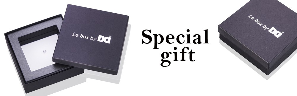 Special gift with diamonds